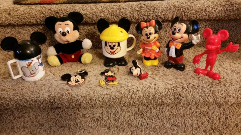 Antique Mickey Mouse Collection. USA seller. I ship fast.