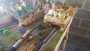 large model train layout Raymond Terrace Port Stephens Area Preview