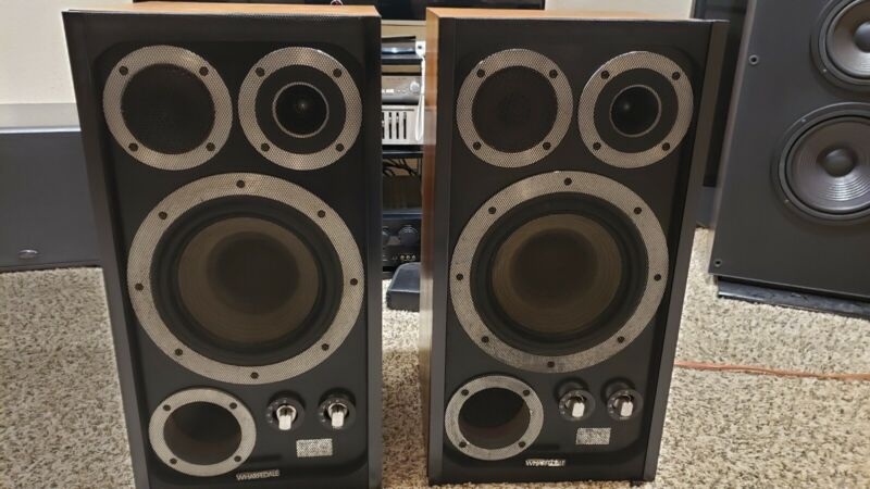 WHARFEDALE E50 VINTAGE Speakers, Sounds great ,Rare