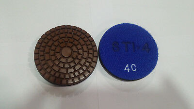 3 Diamond Polishing Pad - 100 Grit Copper - Sti Fl-07 - Concrete Polishing Pad