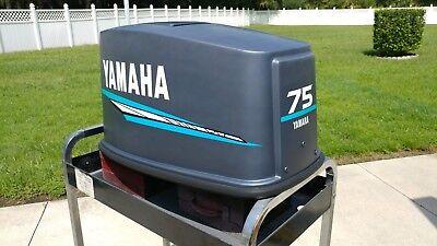 Yamaha Outboard 90 - 150 hp 2 STROKE Decal Sticker Kit Seafoam Green