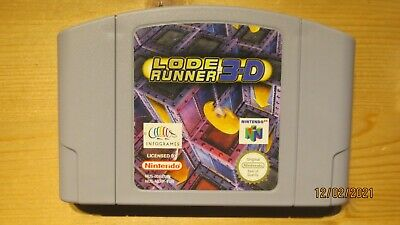 Lode Runner 3D for Nintendo 64 N64. Cart Only. Pal