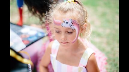 Face painter for kids parties from $80 per hour