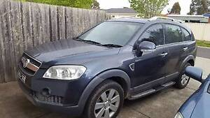 2007 Holden Captiva Wagon Roxburgh Park Hume Area Preview
