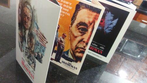 THE IRISHMAN Set of 6 collectible Cards FYC Scorsese de niro
