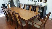 Extendable Coco Republic Dining Table w/ 10 Chairs. Stunning! Naremburn Willoughby Area Preview