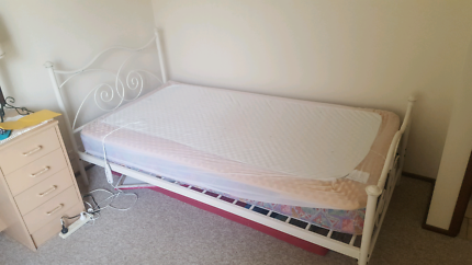 King single bed + extras