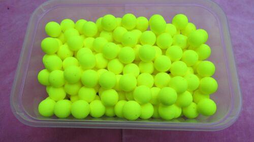 Pike Pop Up Dead Bait Poly Balls 10 x 15 mm    ..0009