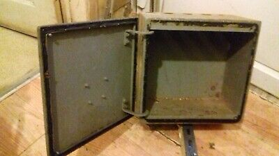 old industrial wall box (old electric box)