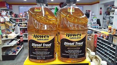 (6) Howes Lubricator HL 103060 1/2 Gallon Diesel Treat Fuel Conditioner Anti Gel