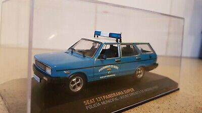 ALTAYA / IXO SEAT 131 PANORAMA SUPER MADRID POLICE 1/43 SCALE