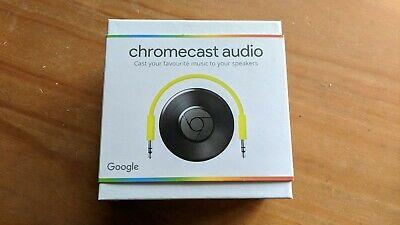 Google Chromecast Audio Streamer 2nd Generation. New Boxed. Sealed.