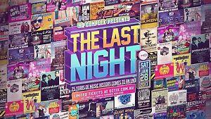 2x HQ Last Night Tickets GA Fulham Gardens Charles Sturt Area Preview