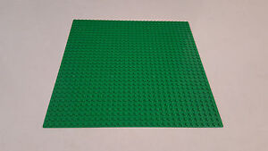 Base Plate Green Building Board LEGO Compatible Baseplate 32x32 Studs Size