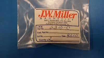 1 Pc 6310-c Jw Miller Ferrite Core R.f. Choke 50.0mh 110 Ohms