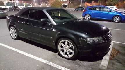 Audi A4 B6 Convertible turbo Rosewater Port Adelaide Area Preview