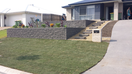 Quality retaining and landscape services