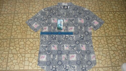Brand New Unworn Reyn Spooner Summer Commemorative Tailored Aloha Shirt Size M