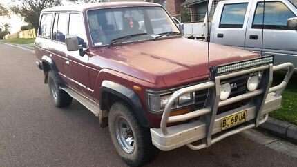 Landcruiser 60 series diesel 4x4  Bateau Bay Wyong Area Preview