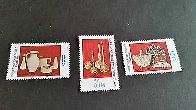 TURKISH CYPRUS 1977 SG 51-53 HANDCRAFTS MNH