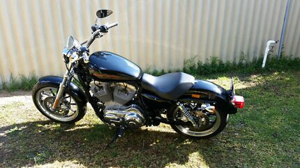 Immaculate 2011 Harley Davidson Sportster SuperLow Safety Bay Rockingham Area Preview