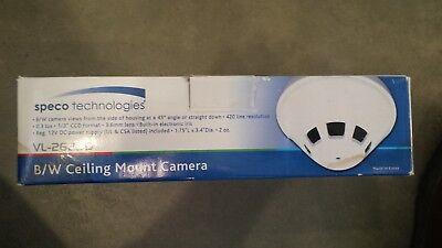 Speco Bw Ceiling Mount Camera Vl-262sd