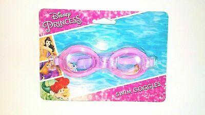 Princess Swimming Goggles (Disney Princess Swim Goggles Pink/Purple Cinderella & Belle Pictures Age)