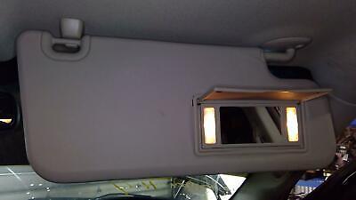 2009 2010 2011 2012 DODGE RAM 1500 Right Sun Visor w/ Vanity Lamp & Mirror GRAY