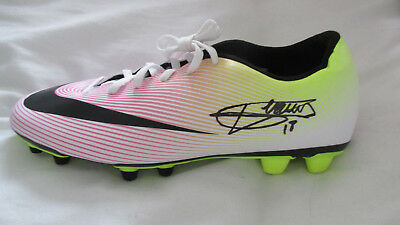 Signed Valere Germain Nike Football Boot w/ Exact Proof! France Marseille Monaco