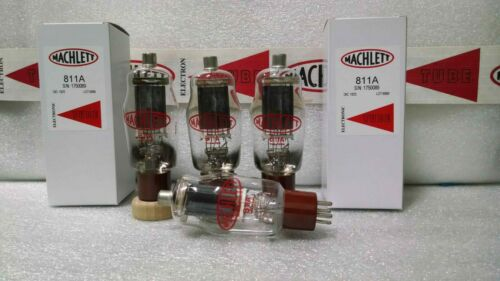 Pre-Order 811A Machlett High-Mu Power Triode Matched Quad (4) Tubes CB Ham Radio