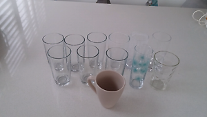 Set of 12 mixed glasses Manly Manly Area Preview