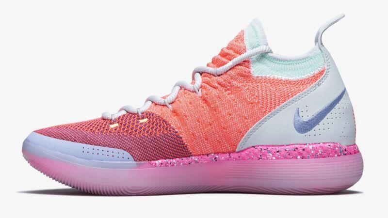 c4ce893be78 Nike Zoom KD 11 XI EYBL PE size 12. Hot Punch Lime. AO2604-600. bhm ...
