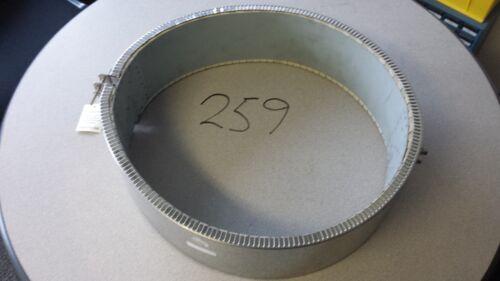 "Ceramic Band Heater, 7750W, 240V, 16 1/2"" Dia. x 5"" wide"