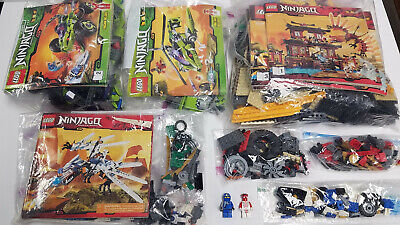 LEGO Bricks Ninjago Bulk Lot 7+ Pounds Mix Pieces w/ Minifigs and Instructions