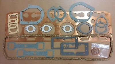Fordson Major E27N Perkins P6.288 Diesel 6 Cyl. Head gasket Gasket Set - NEW for sale  Shipping to United States