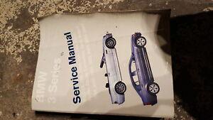 BMW e46 m3 and non m Bentley repair manual