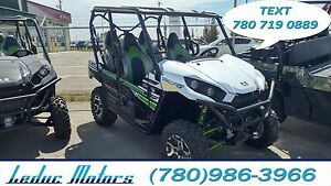 2017 Kawasaki TERYX4 LE EPS - 0% FINANCING - GUARANTEED APPROVAL