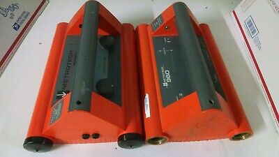Lot Of 2 Vivax Metrotech 9890xt960 Cable Locator Transmitter For Parts Only