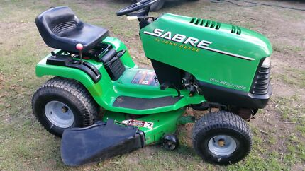 Sabre John Deer ride on lawn mower Yatala Gold Coast North Preview