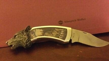 Franklin mint knife Linden Blue Mountains Preview