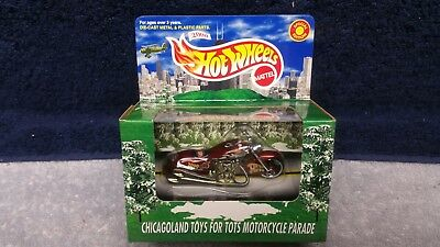 2000 Limited Edition Hot Wheel Chicago Toys For Tots Scorchin Scoooter *MIB*
