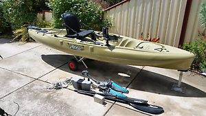 Hobie Outback 2016 fishing kayak Diggers Rest Melton Area Preview