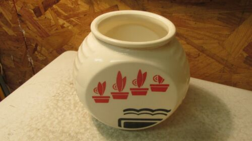 Antique Tip Glass Range Grease Jar