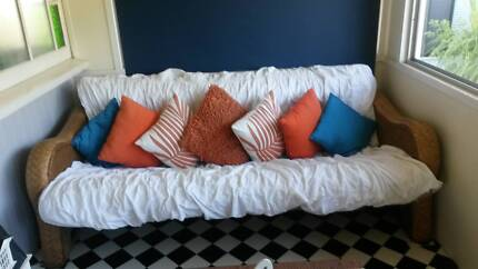 lounge that folds out to double bed Sandgate Brisbane North East Preview