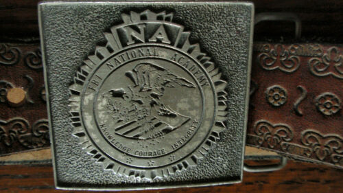 Vintage NA FBI NATIONAL ACADEMY  Belt Buckle