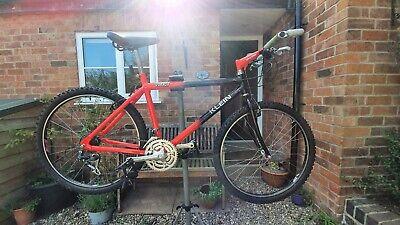 Klein Rascal Vintage Mountain Bike, Black fade to Red(Flare)