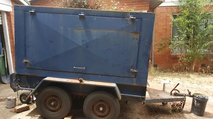 Tandem trailer enclosed tradie / camping
