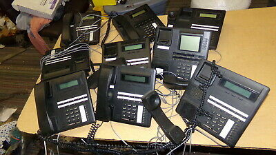 Comdial Phones 83125-fb 83125-fb Lot Of 9 Free Shipping