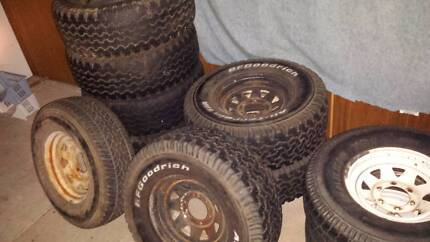 4x4 assorted wheels Greenbank Logan Area Preview