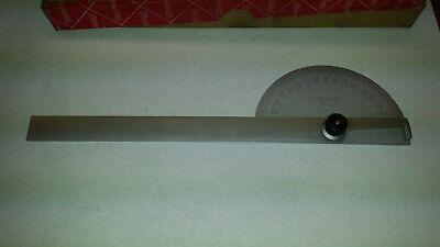 Starrett C19 Semi-circular Steel Protractor